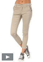 CHEAP MONDAY Womens Ankle Chino Pant beige