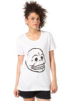 CHEAP MONDAY Womens Easy Bruce S/S T-Shirt white