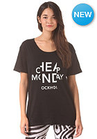 CHEAP MONDAY Womens Easy Cheap Look S/S T-Shirt black