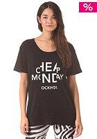 CHEAP MONDAY Womens Easy Cheap Look S/S T-Shirt black