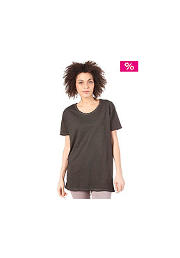 CHEAP MONDAY Womens Easy Printed S/S T-Shirt charcoal