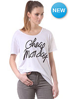 CHEAP MONDAY Womens Easy S/S T-Shirt white