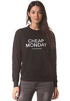 CHEAP MONDAY Womens Ellie Cheap Monday Sweat black