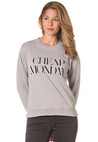CHEAP MONDAY Womens Ellie CM Sweat grey melange
