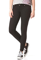 CHEAP MONDAY Womens Low Spray Denim Pant black