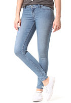 CHEAP MONDAY Womens Low Spray Denim Pant light blue