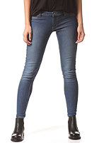CHEAP MONDAY Womens Low Spray Denim Pant mid blue