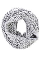CHEAP MONDAY Womens Mega Tube Scarf grey melange