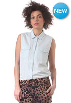 CHEAP MONDAY Womens Move On Shirt xxs denim wash
