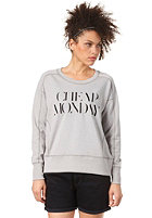 CHEAP MONDAY Womens Naomi Sweatshirt grey melange