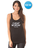 CHEAP MONDAY Womens Nomi Tank Top black