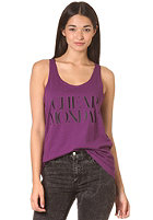 CHEAP MONDAY Womens Nomi Tank Top plum