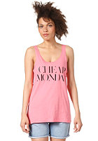 CHEAP MONDAY Womens Nomi Tank Top strawberry pink
