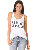CHEAP MONDAY Womens Nomi Tank Top white