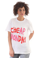 CHEAP MONDAY Womens Perfect S/S T-Shirt white