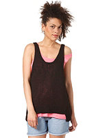 CHEAP MONDAY Womens Rudy Knit Tank Top black
