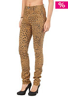 CHEAP MONDAY Womens Second Skin Pant clay leopard