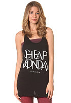 CHEAP MONDAY Womens Shamika Printed Peignot Tank Top black