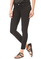 CHEAP MONDAY Womens Slim cropped black pit