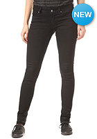 CHEAP MONDAY Womens Slim Denim Pant black pit