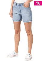 CHEAP MONDAY Womens Thrift Short Jeans Pant heavy washed