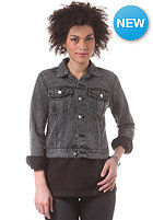 CHEAP MONDAY Womens Vital Denim Jacket black dream