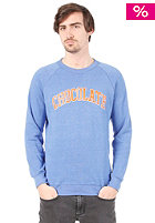 CHOCOLATE Arched League Sweat eco blue