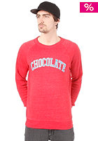 CHOCOLATE Arched League Sweat eco red