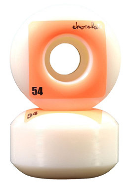 CHOCOLATE Fluorescent Square Wheels 54 mm