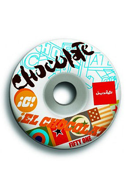CHOCOLATE Pile Up Wheels 51 mm