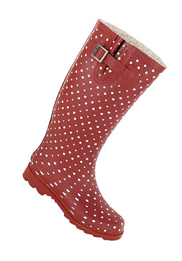 CHOOKA Womens Posh Dots Boot berry