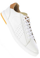 CLAE Arthur white leather