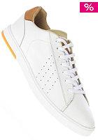 CLAE Arthur white leather