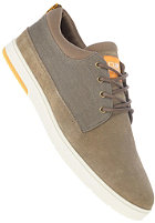 CLAE Gordon sage suede silt canvas