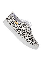 CLAE Newman white leopard print canvas