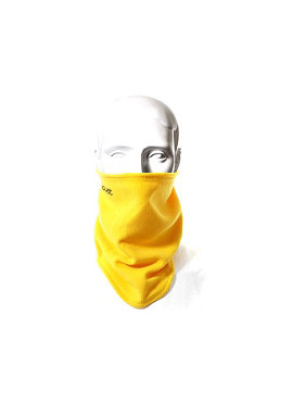 CLAST Fleece Neckwarmer yellow