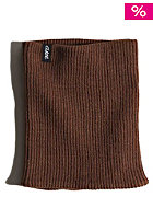 CLAST Knitted Neckwarmer brown
