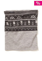 CLAST M�ller Rev. Merino Neckwarmer black / heather grey
