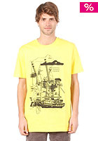 CLEPTOMANICX AALbatross S/S T-Shirt bright yellow