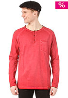 CLEPTOMANICX Ace 2 L/S Shirt dried tomato