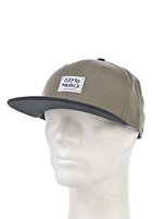 CLEPTOMANICX Badger Cap dark olive