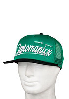 CLEPTOMANICX Barrio Cap black/kelly