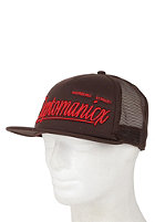 CLEPTOMANICX Barrio Cap brown
