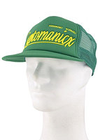 CLEPTOMANICX Barrio Mesh Cap kelly green
