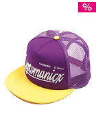 CLEPTOMANICX Barrio Snapback Cap purple