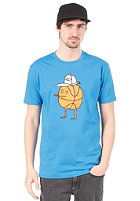 CLEPTOMANICX Basketball Zitrone Basic S/S T-Shirt fly blue