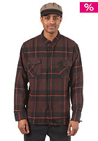 CLEPTOMANICX Budon L/S Shirt brown check