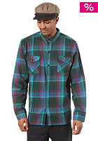 CLEPTOMANICX Budon L/S Shirt dark green 