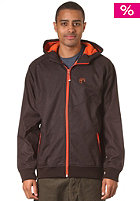 CLEPTOMANICX Burner Bonded 2 Jacket dark brown