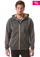 CLEPTOMANICX Burner Bonded 2 Jacket heather dark gray